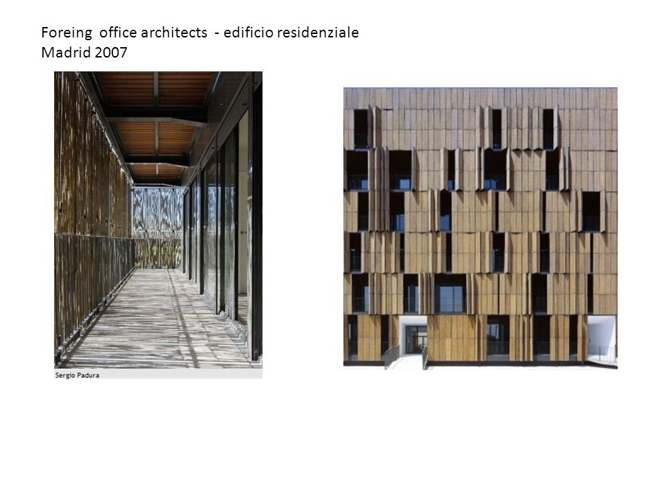 Foreing office architects - edificio residenziale Madrid 2007