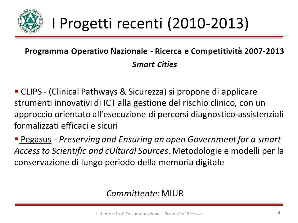 Programma Operativo Nazionale - Ricerca e Competitività 2007-2013