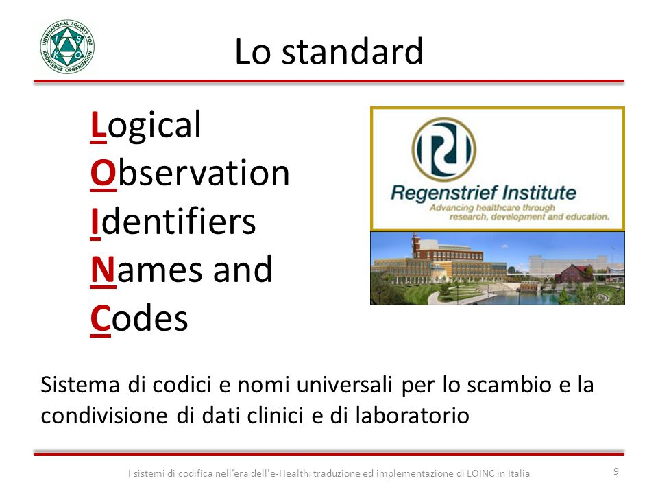 Logical Observation Identifiers Names and Codes