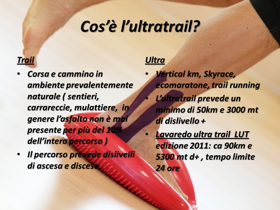 Cos'è l'ultratrail Trail Ultra