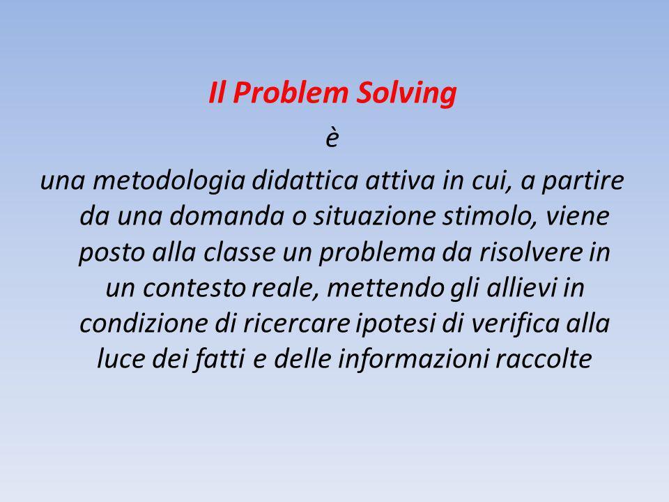 Il Problem Solving è.