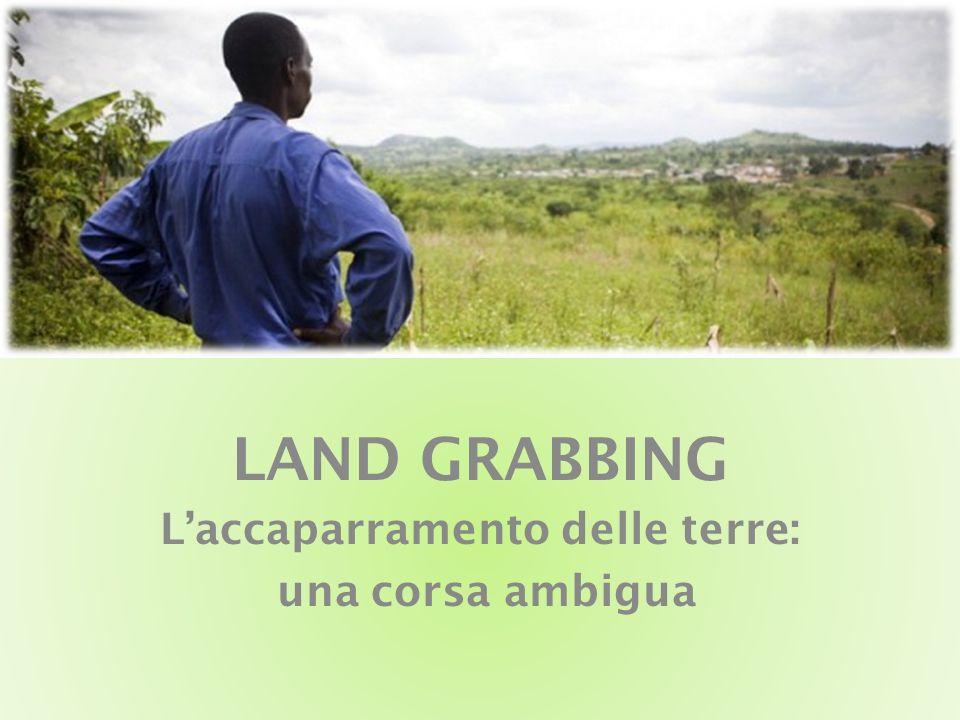 LAND GRABBING L'accaparramento delle terre: una corsa ambigua