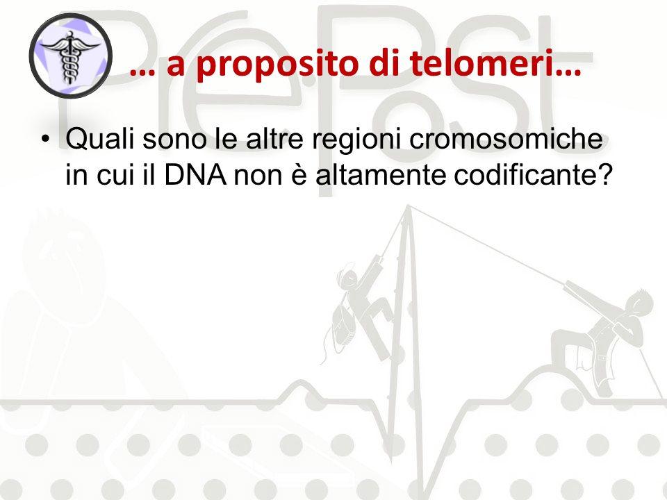 … a proposito di telomeri…