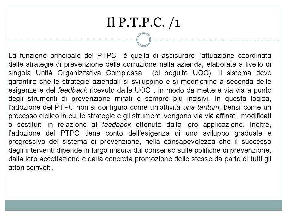 Il P.T.P.C. /1
