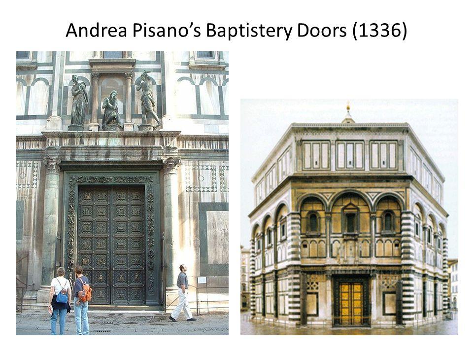 Andrea Pisano's Baptistery Doors (1336)