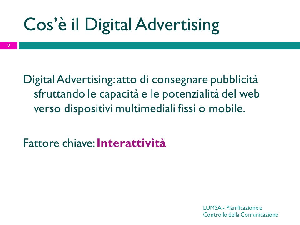 Cos'è il Digital Advertising