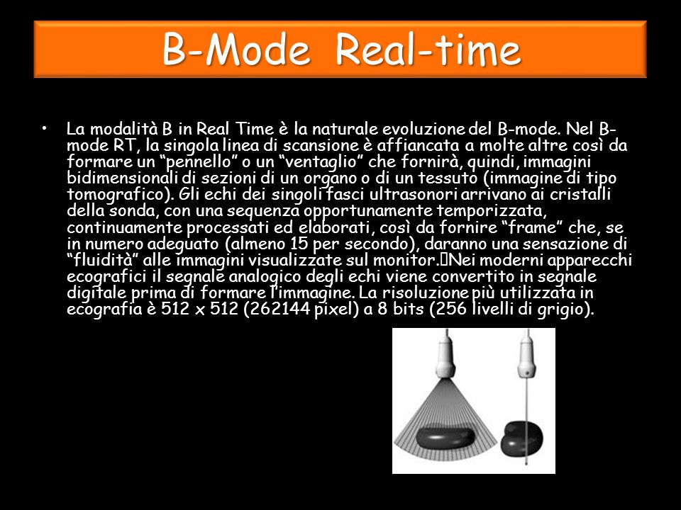 B-Mode Real-time