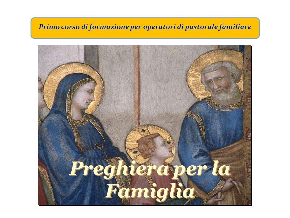 Primo corso di formazione per operatori di pastorale familiare