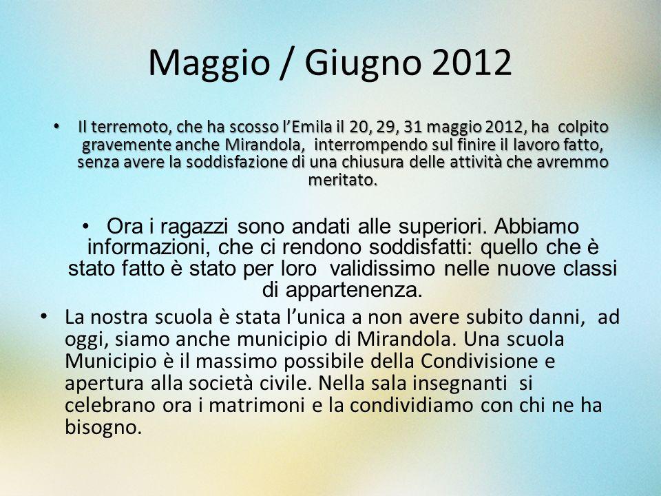 Maggio / Giugno 2012