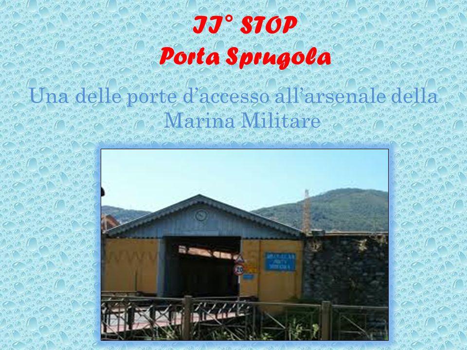 II° STOP Porta Sprugola