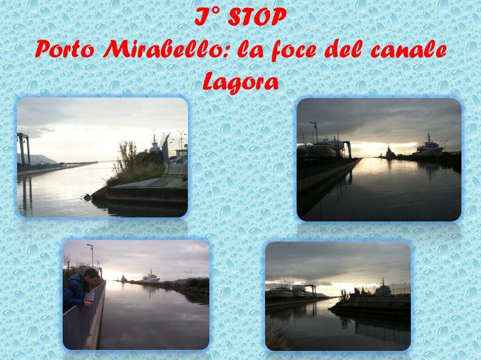 I° STOP Porto Mirabello: la foce del canale Lagora