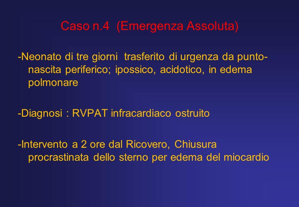 Caso n.4 (Emergenza Assoluta)