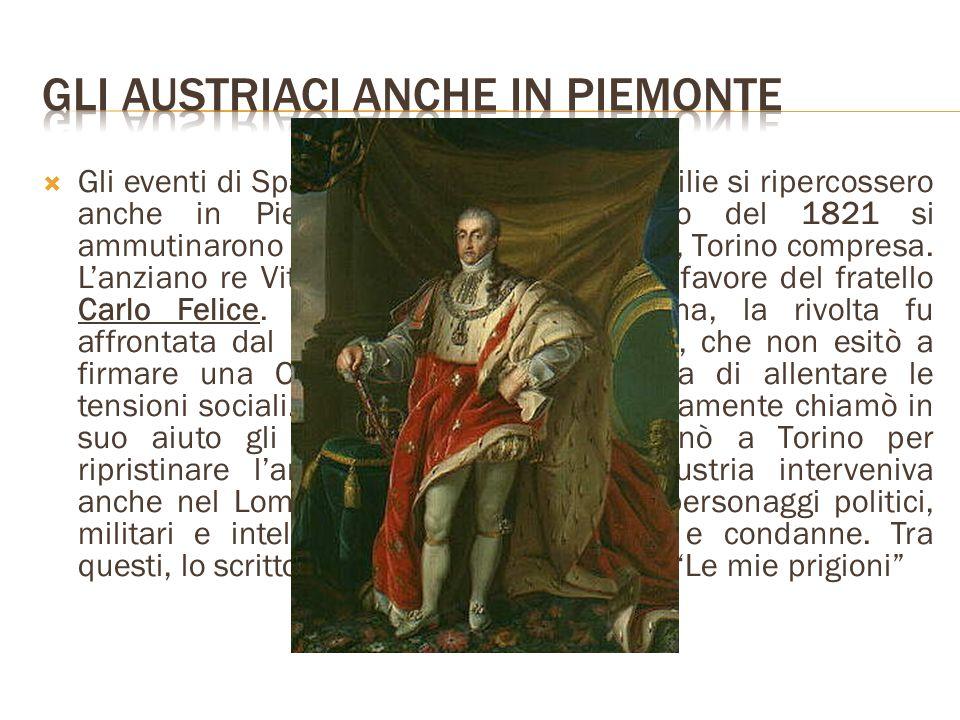 Gli Austriaci anche in Piemonte
