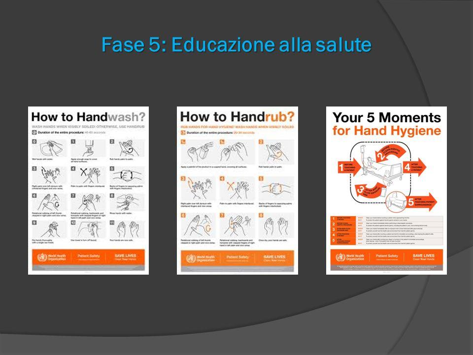 Fase 5: Educazione alla salute