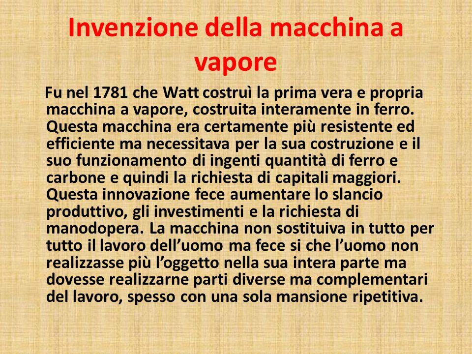 Invenzione della macchina a vapore