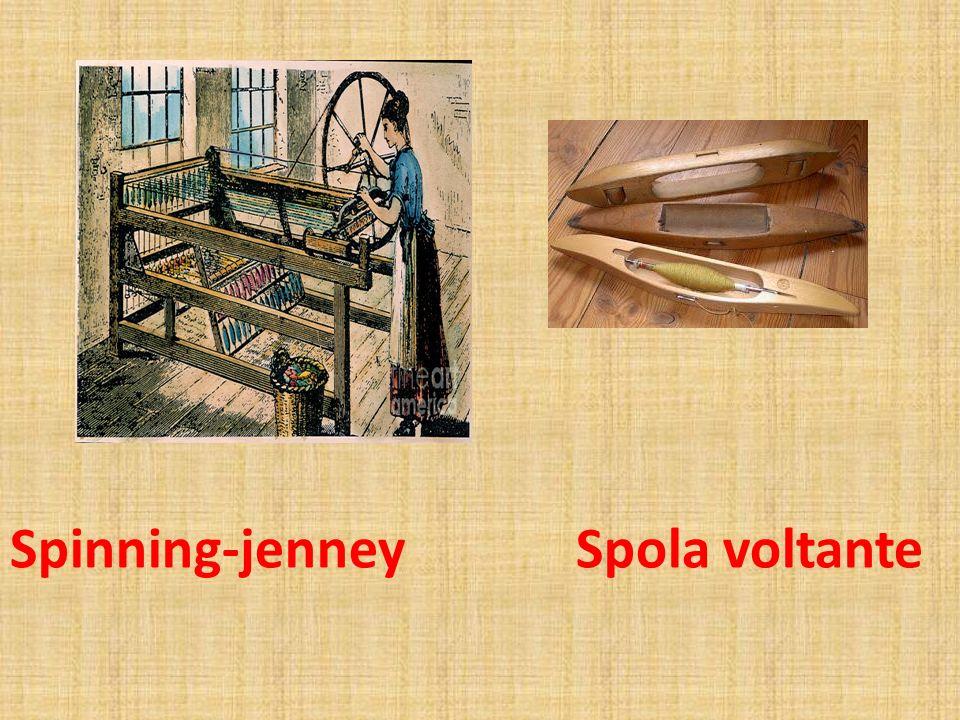Spinning-jenney Spola voltante