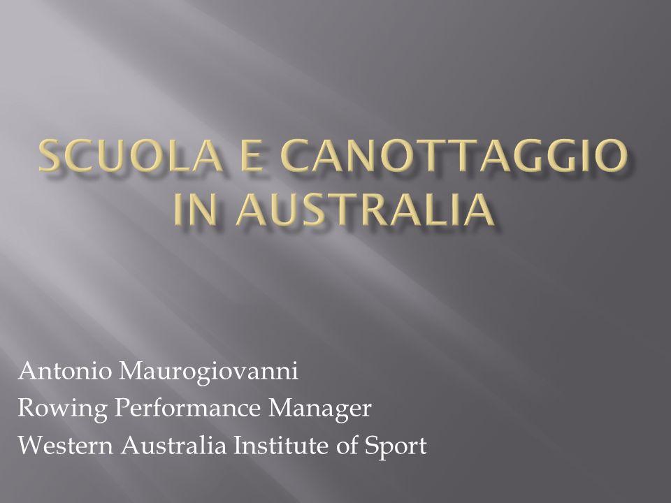 SCUOLA E CANOTTAGGIO IN AUSTRALIA
