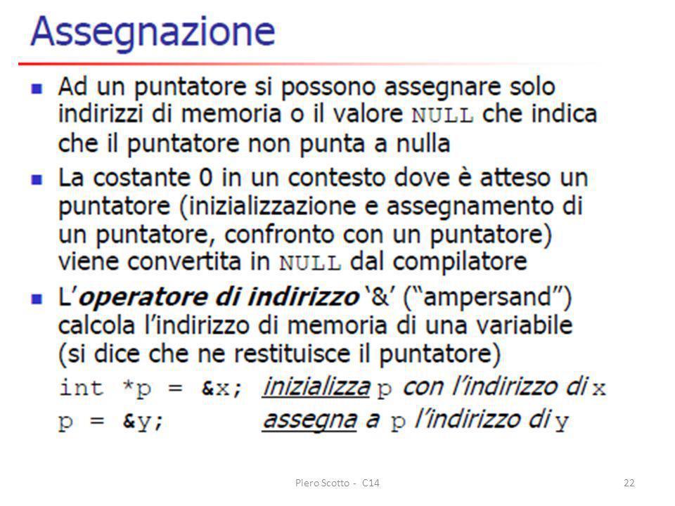 Piero Scotto - C14