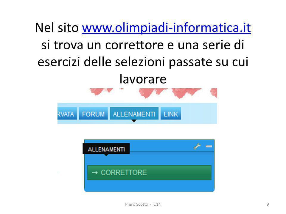 Nel sito www. olimpiadi-informatica