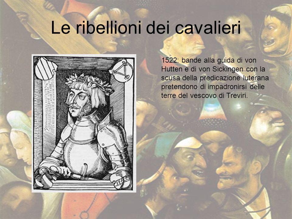 Le ribellioni dei cavalieri