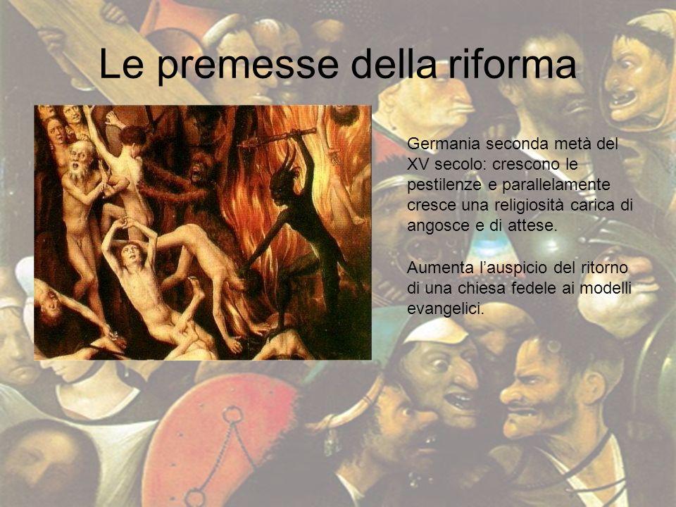 Le premesse della riforma