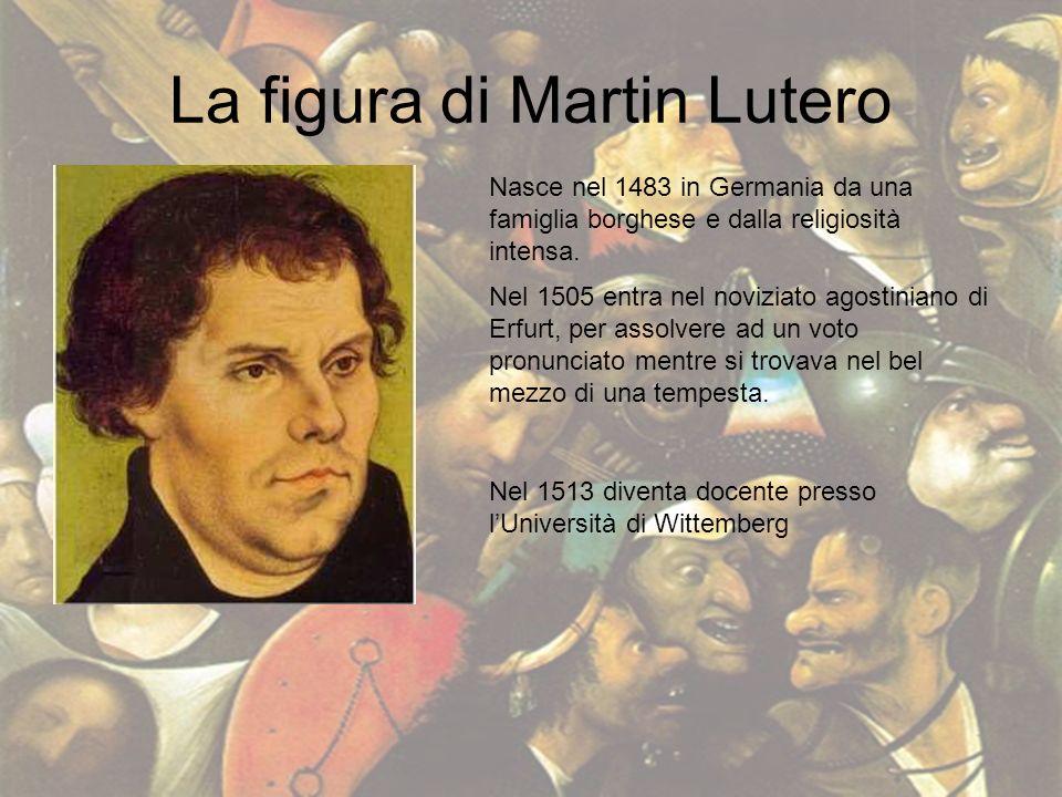 La figura di Martin Lutero