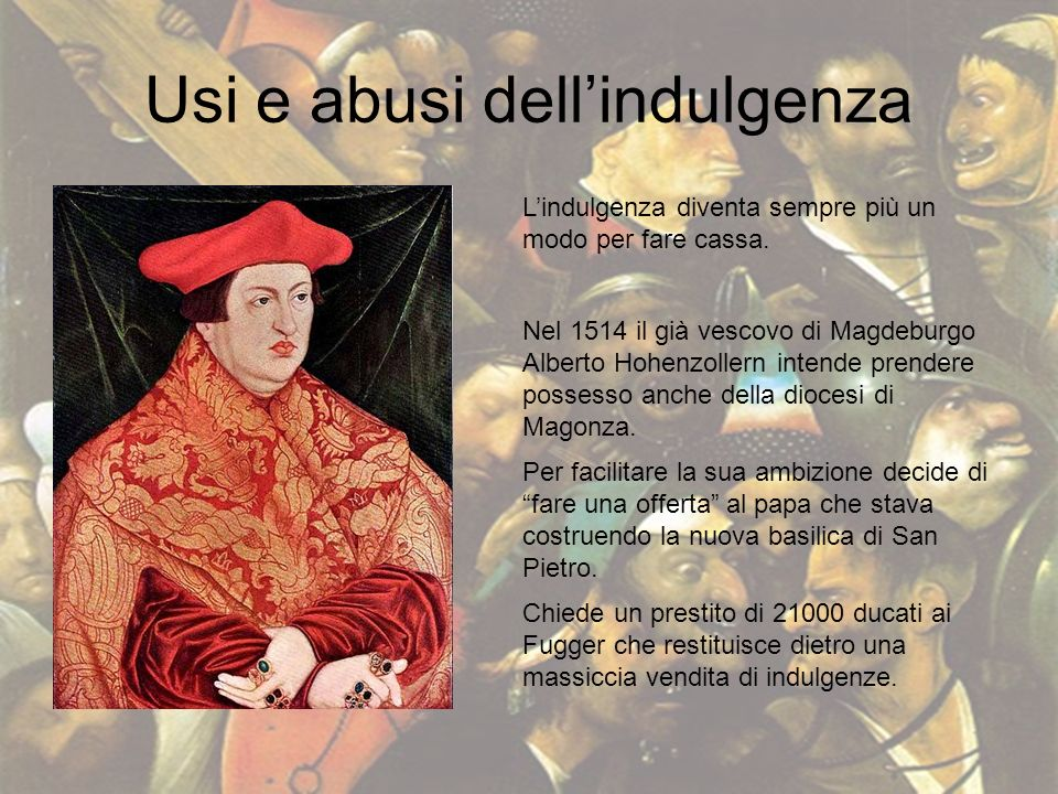 Usi e abusi dell'indulgenza