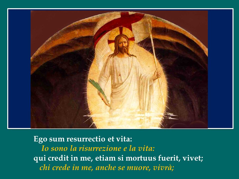 Ego sum resurrectio et vita: