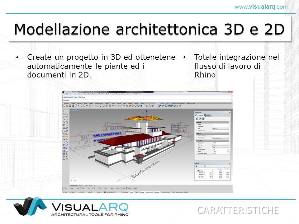 Modellazione architettonica 3D e 2D