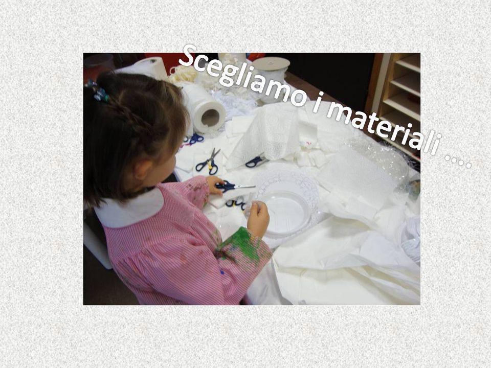 Scegliamo i materiali ….