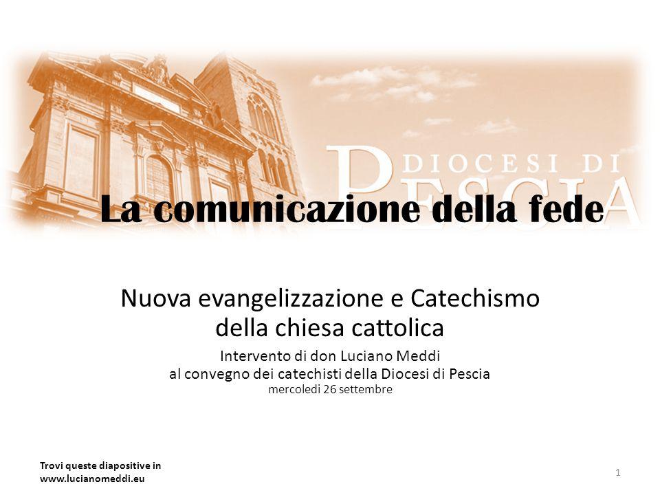 La comunicazione della fede