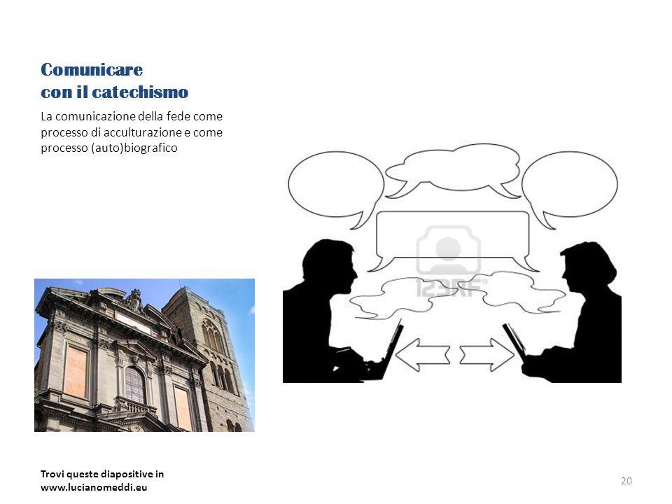 Comunicare con il catechismo