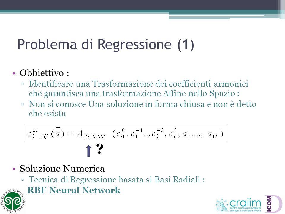 Problema di Regressione (1)