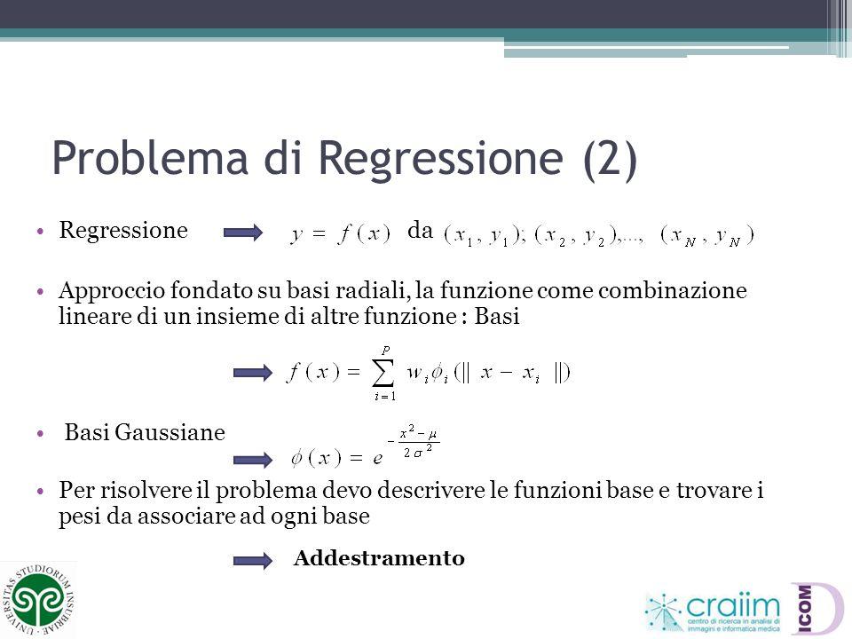 Problema di Regressione (2)