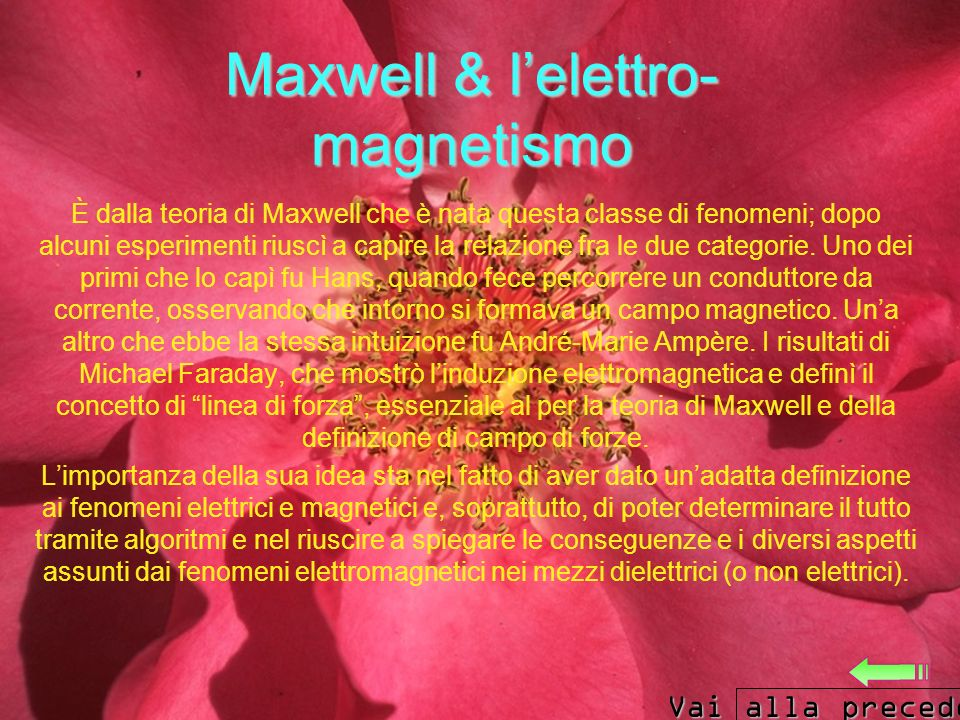 Maxwell & l'elettro-magnetismo