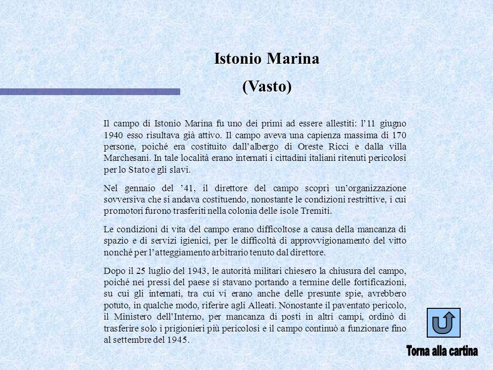 Torna alla cartina Istonio Marina (Vasto)
