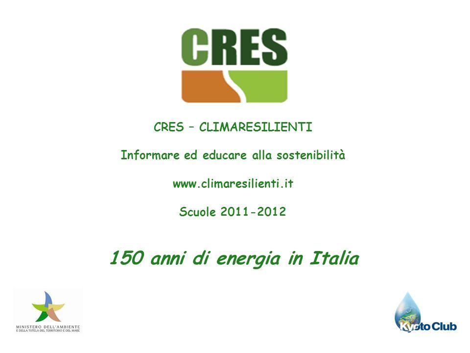 150 anni di energia in Italia