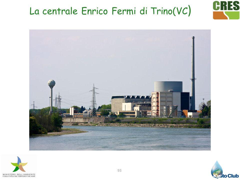 La centrale Enrico Fermi di Trino(VC)