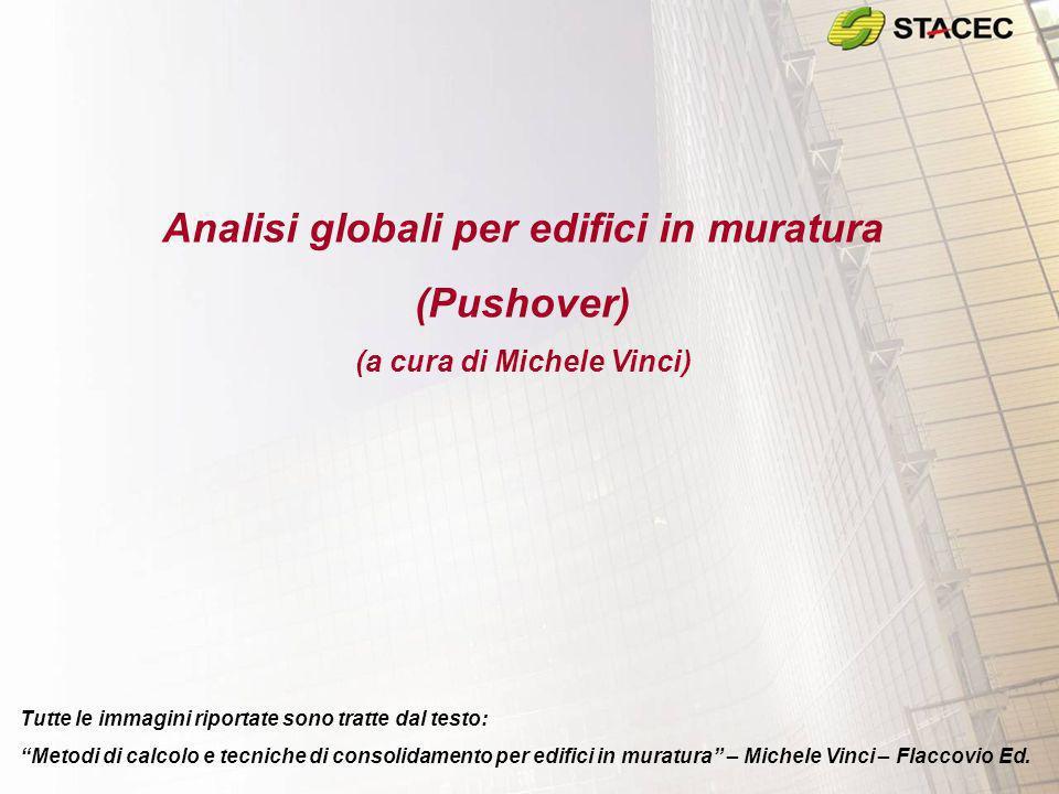 Analisi globali per edifici in muratura (a cura di Michele Vinci)