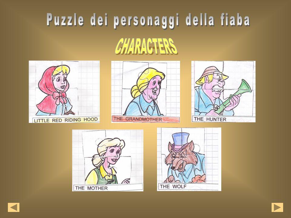 Puzzle dei personaggi della fiaba