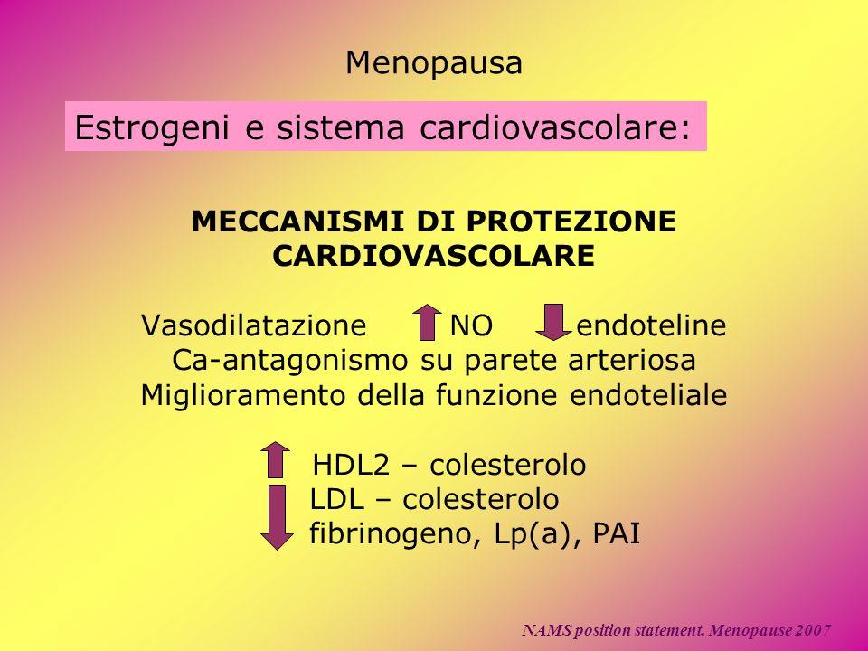 Estrogeni e sistema cardiovascolare: