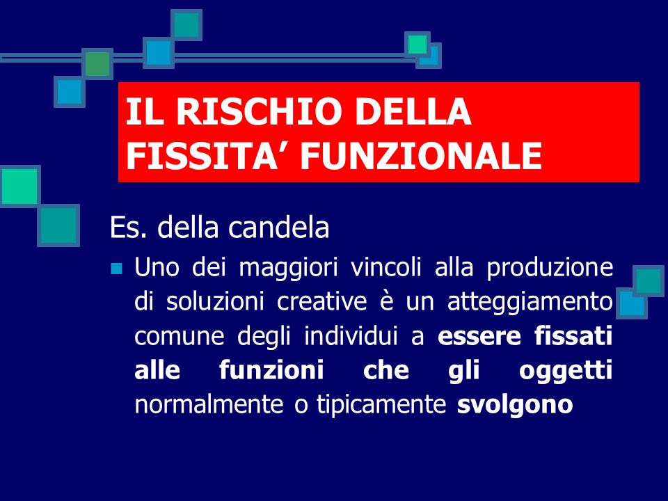 IL RISCHIO DELLA FISSITA' FUNZIONALE