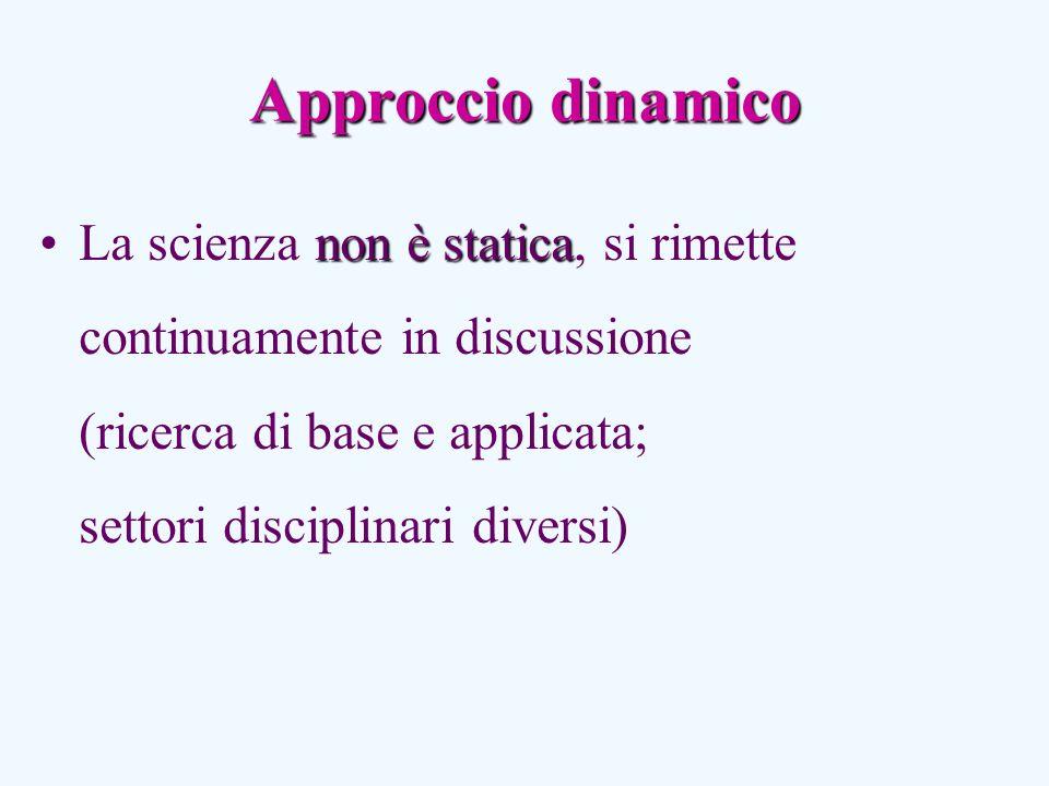Approccio dinamico