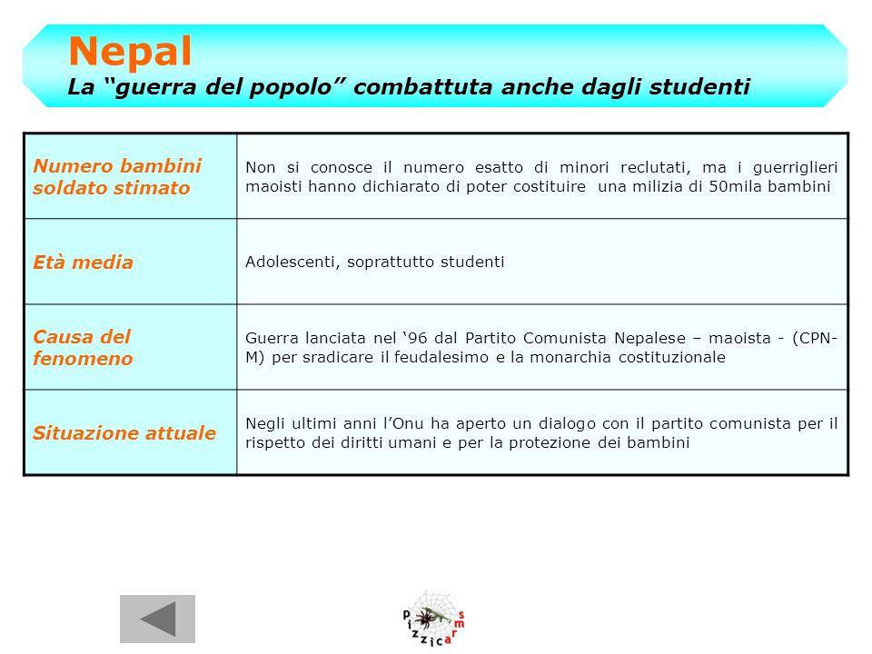 Nepal La guerra del popolo combattuta anche dagli studenti