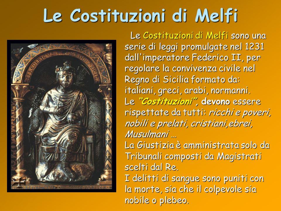 Le Costituzioni di Melfi