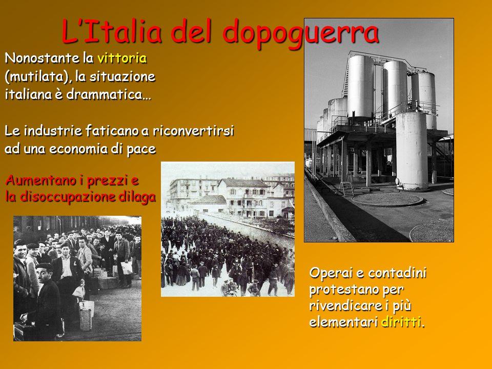 L'Italia del dopoguerra