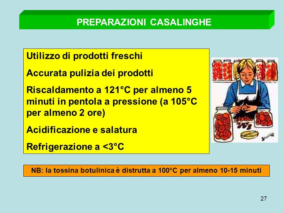 PREPARAZIONI CASALINGHE