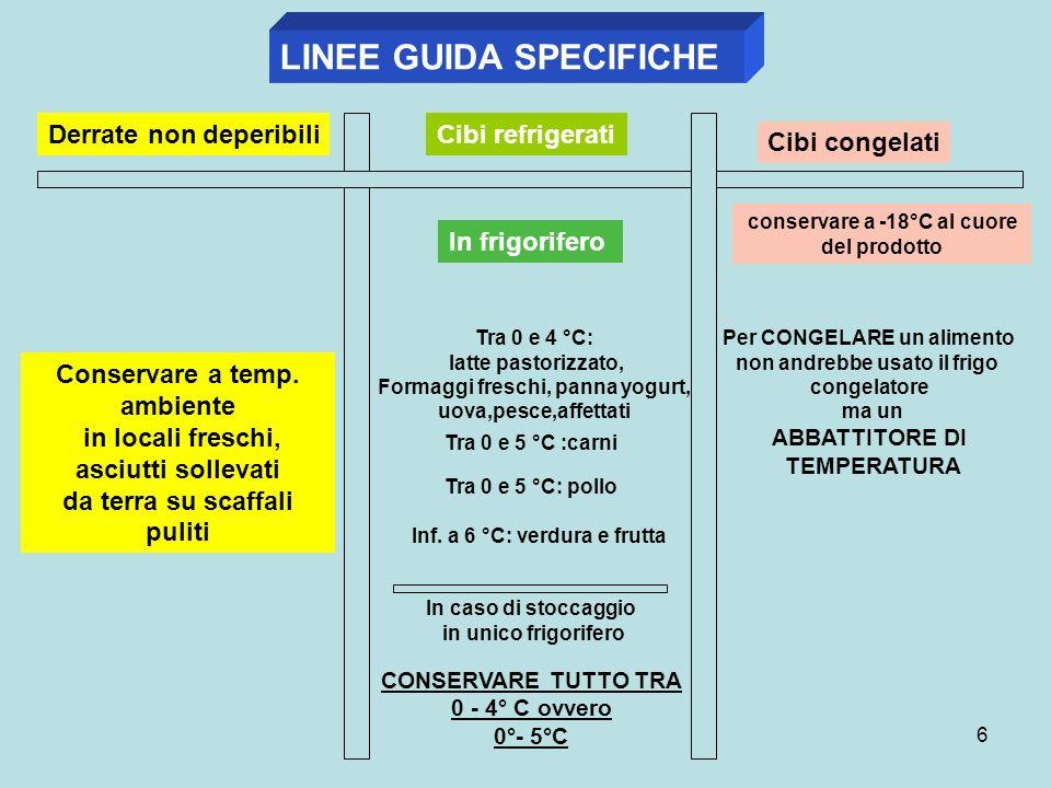 LINEE GUIDA SPECIFICHE