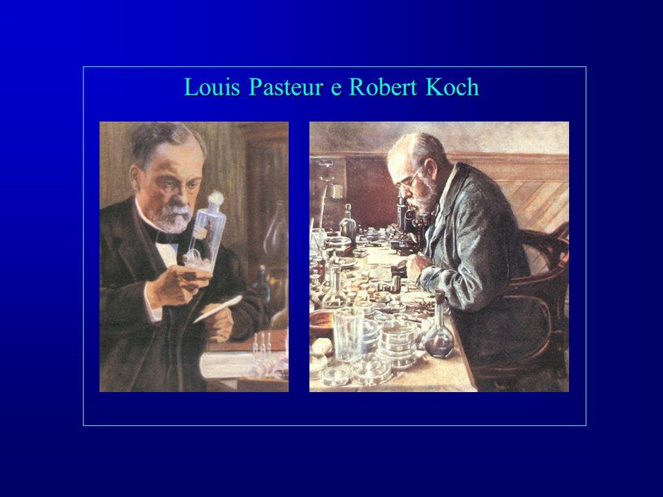 Louis Pasteur e Robert Koch