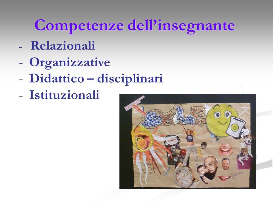 Competenze dell'insegnante